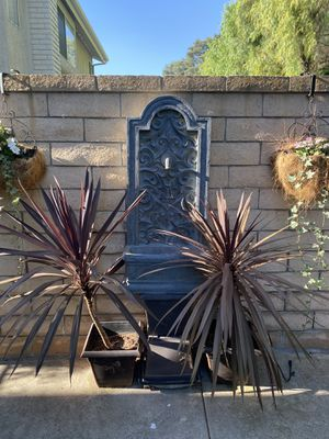 Outdoor wall fountain for Sale in Mission Viejo, CA