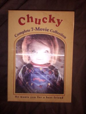 Chucky DVD collection brand new not opened at all for Sale in Ontario, CA