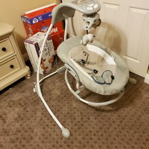 Two Ingenuity Baby Swings...two For The Price Of One for Sale in Las Vegas, NV