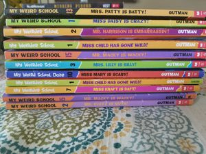 Weird school series books for Sale in Fresno, CA