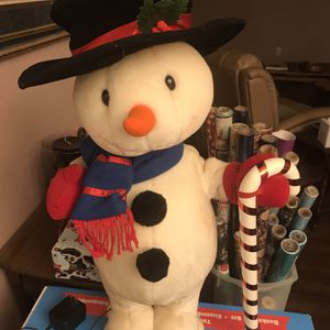 Animated Snowman for Sale in Buffalo, NY