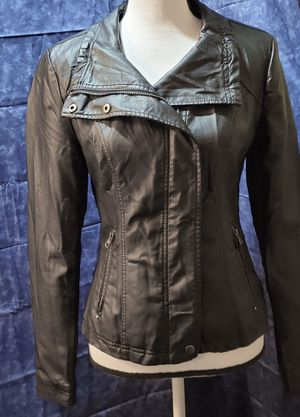 RD Style Women's Small Leather Biker Jacket for Sale in Ripley, WV