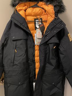 Timberland Men's Outdoor Heritage Expedition Parka - medium black for Sale in Worcester,  MA