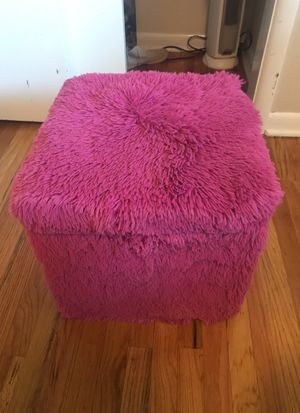 Pink ottoman with storage for Sale in Holladay, UT
