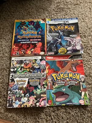Pokémon game books for Sale in San Diego, CA