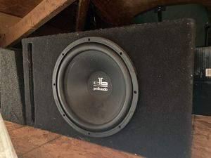 Subwoofer box for sale for Sale in Milpitas, CA