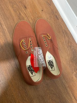 Size 10.5 vans brown for Sale in Upper Marlboro, MD