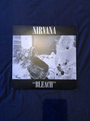 nirvana bleach vinyl for Sale in Valrico, FL