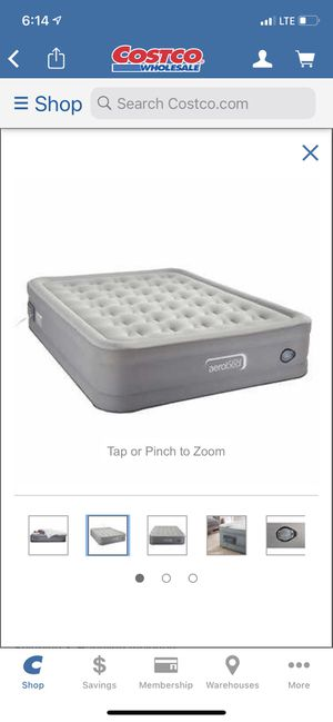 Queen Size Aerobed Air Mattress for Sale in Alexandria, VA