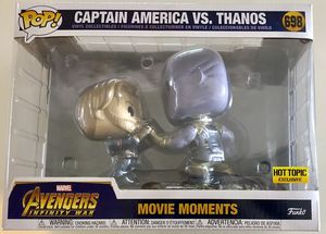 Funko POP Avengers Infinity War Captain America vs Thanos for Sale in Missouri City, TX