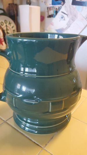 Longaberger pottery pitcher for Sale in Covina, CA