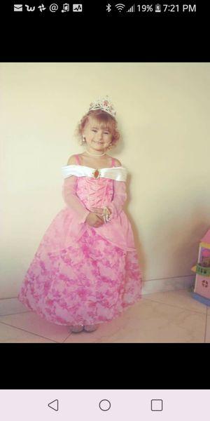 Authentic Disney Princess Aurora (Sleeping Beauty) Dress - Size 5,/6 for Sale in Phoenix, AZ