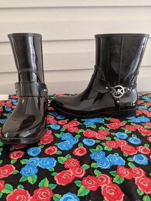 MK rain boots! for Sale in Joint Base Lewis-McChord, WA