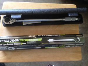 1/2 inch torque wrench for Sale in Wilsonville, OR