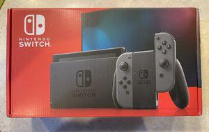 Brand New Nintendo Switch Grey 32 GB V2 for Sale in Seattle, WA