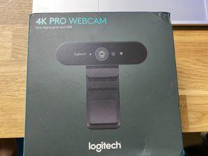 Logitech 4K Pro Webcam New unopened box for Sale in Belmont, MA