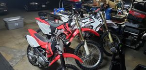 09 07 and 04 Honda CRF 450x 250 and 80 for Sale in Anaheim, CA