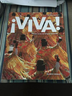 Spanish 1 Viva Fourth Edition College Textbook for Sale in Marne, MI