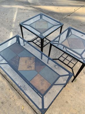 3 PIECE COFFEE TABLE SET - ASHLEY FURNITURE for Sale in Los Angeles, CA