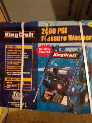 King Craft Pressure Washer for Sale in Oklahoma City, OK