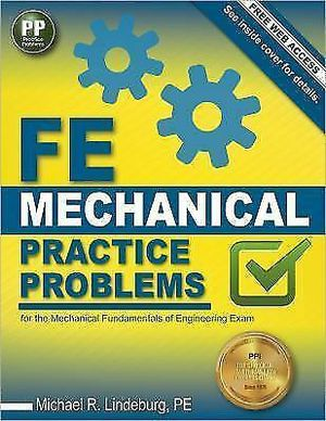 FE Mechanical Practice Problems. Pass the Test Exam for Sale in Winter Haven, FL