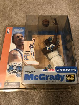 "McFarlane Tracy McGrady Orlando Magic ""Action Figure Debut "" for Sale in Greenville, SC"