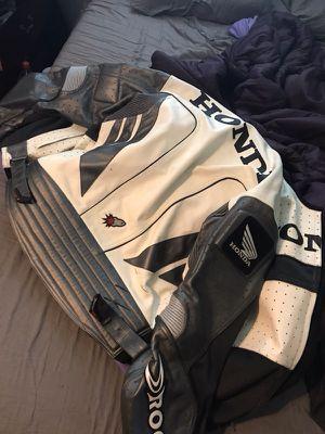Joe rocket Honda leather motorcycle jacket for Sale in Austin, TX