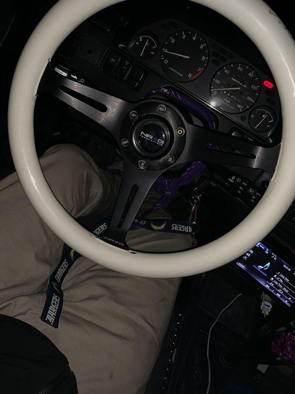 NRG Quick Release Steering Wheel Setups