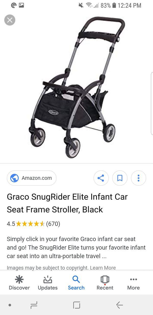 Graco SnugRide Snuglock 35 Elite Infant Car Seatwith Graco compatible Frame.