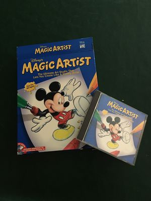 Vintage Disney Magic Artist software for Sale in La Palma, CA