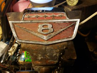 66 Ford F-250 Hood Emblem. I Didn't Clean It Or Buff It. But It Will Clean Up Nicely. If I Do It, I Will Add Another 20$ On To The Price. for Sale in Everett,  WA