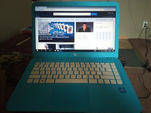 HP stream laptop 14-ax0XX for Sale in Wichita, KS
