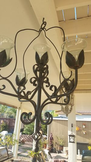 Large wrought iron candle holder for Sale in Wildomar, CA