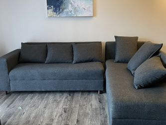 Grey Sectional Couch for Sale in Clearwater,  FL