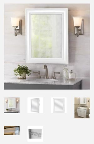 bathroom medicince cabinet with mirror for Sale in Houston, TX