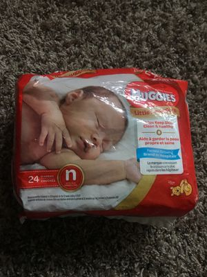 Huggies Diapers Size Newborn for Sale in Mukilteo, WA