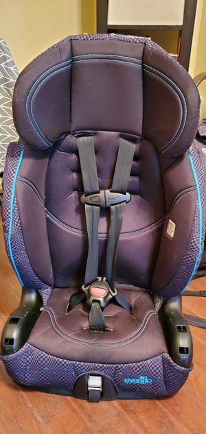 EVENFLO CHASE BOOSTER LX HARNESS CHILD CAR SEAT (AQUA COLOR) for Sale in Belleville, NJ
