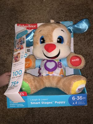 Fisher price Smart stages puppy for Sale in Dublin, GA