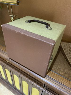 Vintage 25mm film case OR 45 rpms holder. 7th & Tbird for Sale in Phoenix, AZ