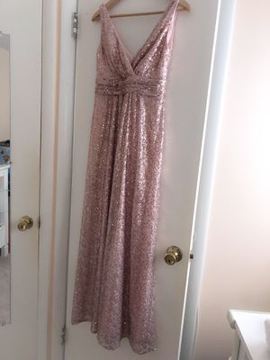 Rose Gold Sequin Dress (Petite, 4) for Sale in Gaithersburg, MD