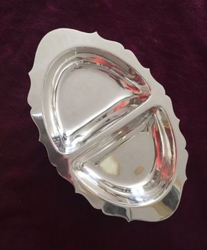 Sterling Silver divided silver dish for Sale in Baltimore, MD