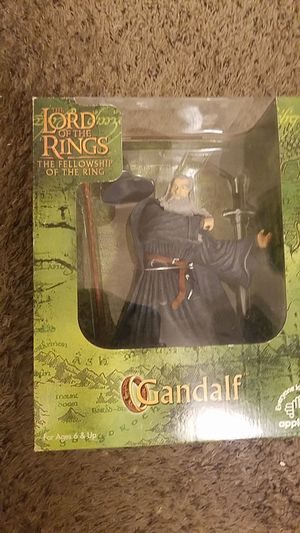 The Lord of the rings action figure,The Fellowship of the rings SERIES Gandalf! for Sale in Amarillo, TX