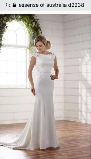 Essense of Australia d2238 wedding dress for Sale in Roanoke, VA