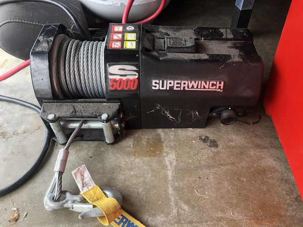 SuperWinch S5000. Used once.