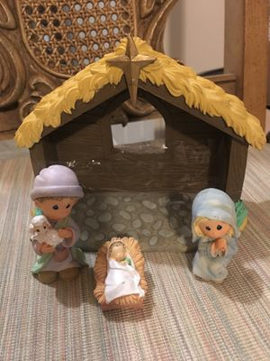 Precious moments nativity set porcelain for Sale in Hanover, MD