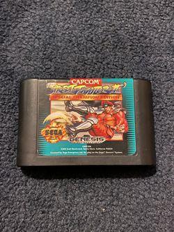 Street Fighter Champion Edition Sega Genesis for Sale in Anaheim,  CA