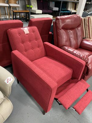 Red sofa chair recliner for Sale in Ontario, CA