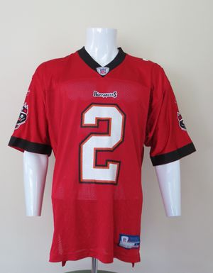 Chris Simms Tampa Bay Buccaneers NFL Jersey Reebok Red Men's Large for Sale in Waltham, MA