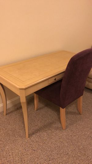 Desk and Chair for Sale in Southborough, MA
