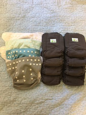Cloth Diapers with Bamboo inserts for Sale in Saratoga Springs, NY